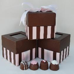 Pink and Brown Box of Chocolates